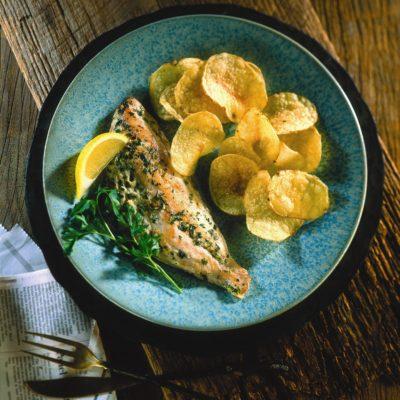 Herbed Croaker 'n Chips Recipe